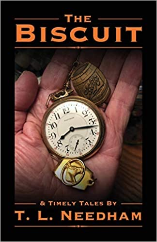 Cover photo from The Biscuit showing hand holding pocket watch